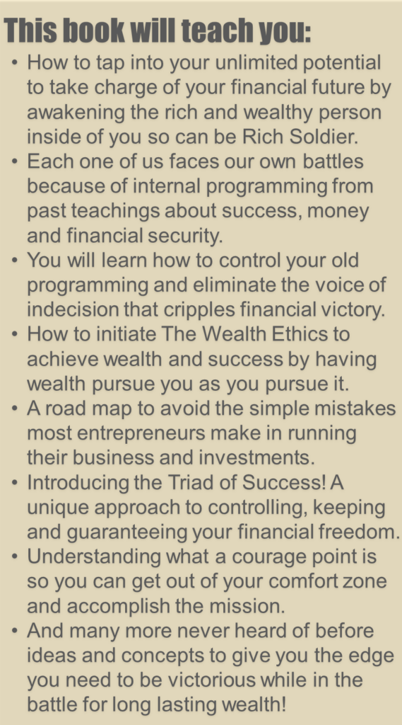 Snip Rich Solder by Lee Escobar Financial Freedom